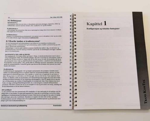 Brukerhåndbok Trans KomTek innsiden