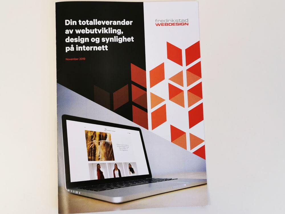 Brosjyre Fredrikstad Webdesign