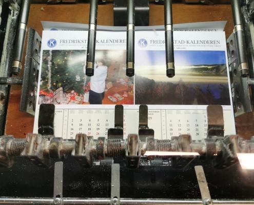 Fredrikstad kalenderen trykk