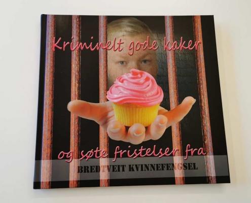 Kriminelt gode kaker hardcover bok